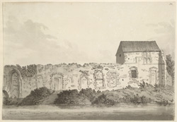 Rewley Abbey, near Oxford f.50
